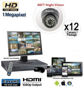 12 HD Outdoor Camera System