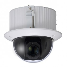 Indoor 2MP PTZ IP Camera, Flush Mount