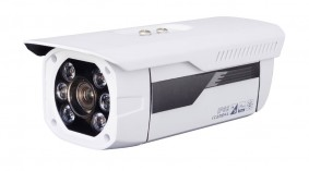 2MP Outdoor IP Bullet Camera, 300ft Infrared