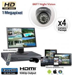 4 HD Outdoor Camera System