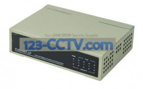 4 Port POE Switch for IP Network Cameras