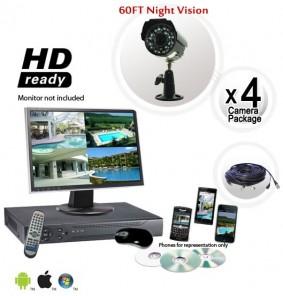 4 Security Camera System