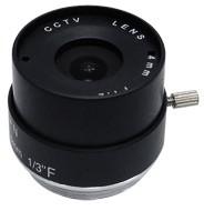 4mm Fixed Iris CS Mount Lens