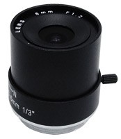 6mm Fixed Iris CS Mount Lens