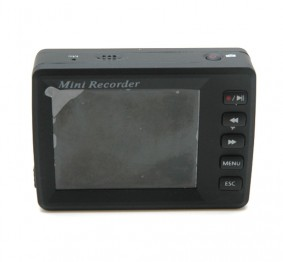 Portable DVR with LCD