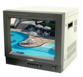 """14"""" Color Monitor with Audio Input and Speaker"""