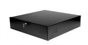 DVR VCR Desktop Security Lockbox with Fan - Low Profile