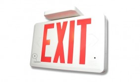 Exit Sign Hidden Video Camera