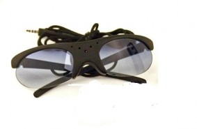 Sun Glasses Camera with Interchangeable Lenses