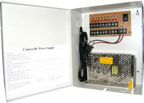 Security Camera Power Supply Box 12V DC