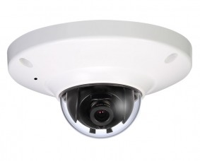 3 Megapixel Low Profile Dome IP Camera IP66