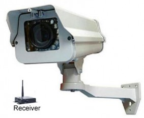 Wireless Security Camera with 80ft night vision