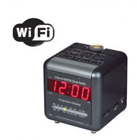 Covert WiFi Clock Camera