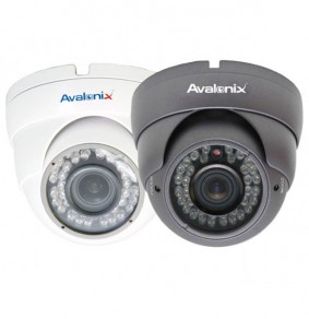1 MP Vandal Proof Dome Camera with Varifocal Lens