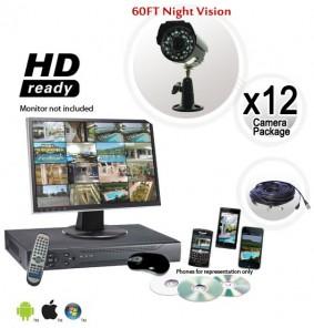 12 Security Camera System
