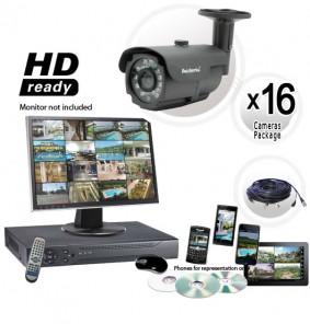 16 Camera CCTV System 800TVL