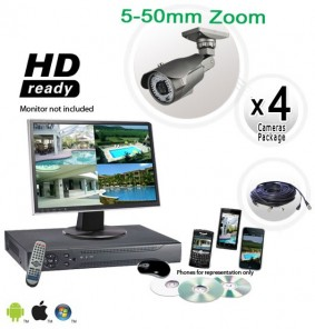 Long Range 4 Camera System