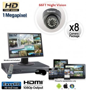 8 HD Outdoor Camera System