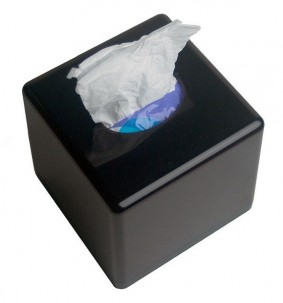 DVR Camera Tissue Box - Top View