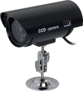 Outdoor Dummy Camera with LED