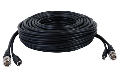 150ft Siamese Video Power Cable Black