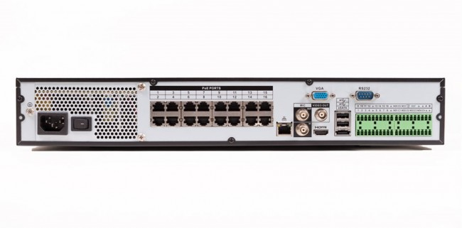 16 Channel Nvr With Built In Poe