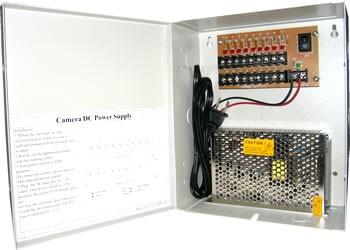 Security Camera Power Distribution Box 12v Dc