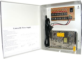 Cctv Power Box Ul Rated 12v Dc