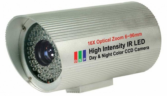 Bazooka Bullet Camera 480tvl 100ft Zoom