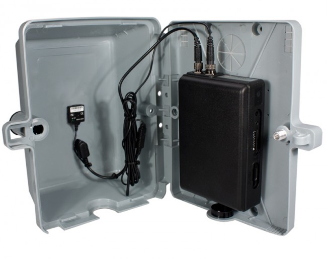 Standalone electric box camera with motion activated recording - Exterior home security cameras ...