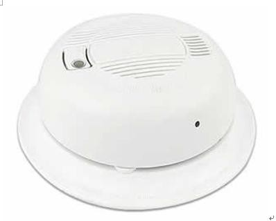 Smoke Detector Camera With Microphone