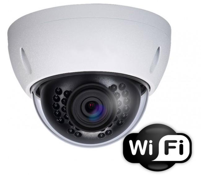 Wifi Wireless Dome Camera 1080p 3mp