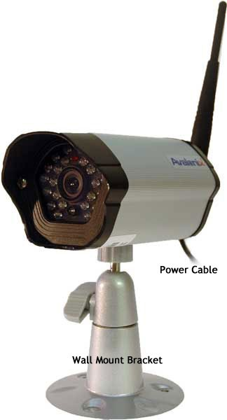 Outdoor Wireless Security Camera With Receiver