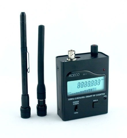 Analog Amp Digital Rf Detector Amp Frequency Counter