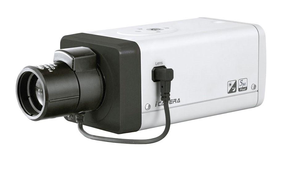 5 Megapixel Ip Box Camera Wdr Poe