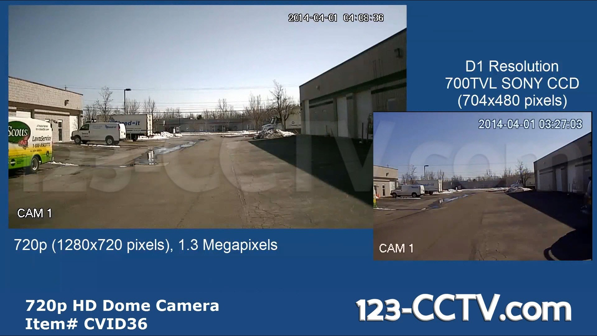 1 3 Megapixel Outdoor Dome Camera Hdcvi