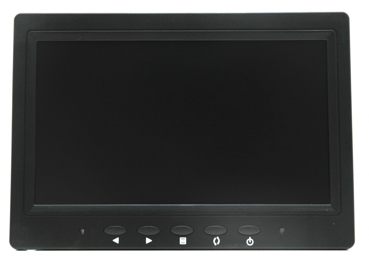 7 Inch Security Lcd Monitor With Vga