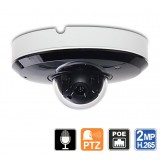 Outdoor Mini PTZ Camera, 3X Zoom, Mic, Night Vision