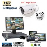 12 Cam HD Security Camera System