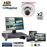 1.3 Megapixel 2 Dome Camera System