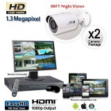 2 Cam HD Security Camera System