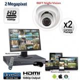 2 Camera 2MP 1080p Dome Camera System