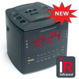Hidden Camera in Alarm Clock - Front View