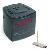 Covert Digital Cube Alarm Clock with USB Reciever with Remote View