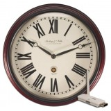 Covert Digital Wireless Wall Clock with USB Receiver with Remote View