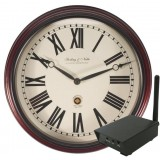 Hidden Digital Wireless Wall Clock with RCA Receiver