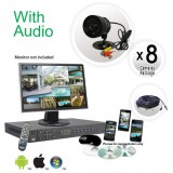 8 Camera System with Audio