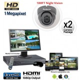 HD 2 Vandal Proof Dome Camera System