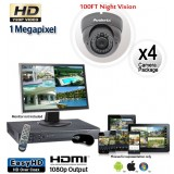HD 4 Vandal Proof Dome Camera System