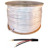 1000ft Spool Video Coax Siamese Cable